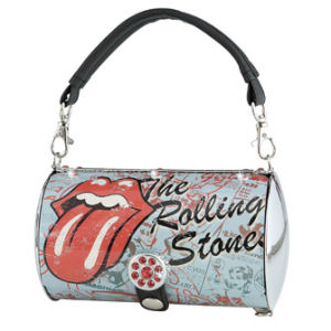 Rolling Stones Cylinder Tote