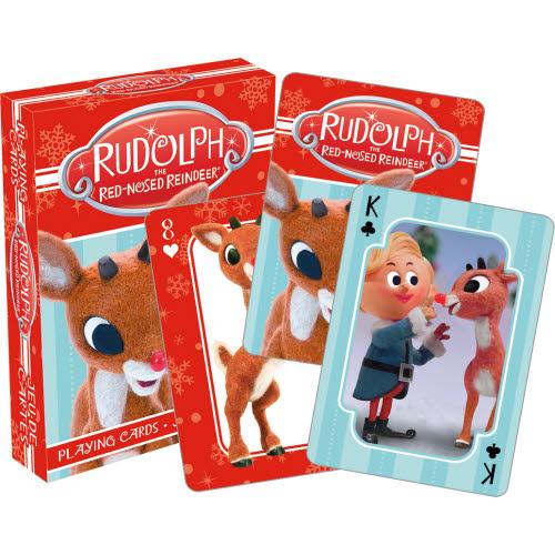 Rudolph Photos Playing Cards