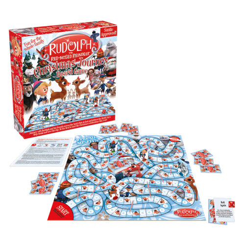 Rudolph The Red-Nosed Reindeer Board Game.