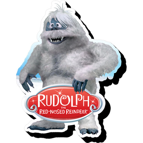 Rudolph Bumble Funky Chunky Magnet.