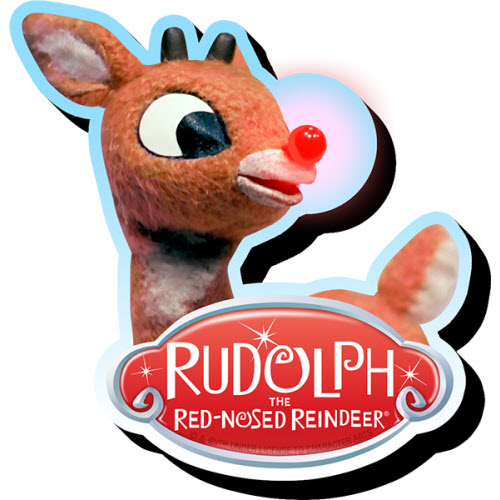 Rudolph Funky Chunky Magnet.