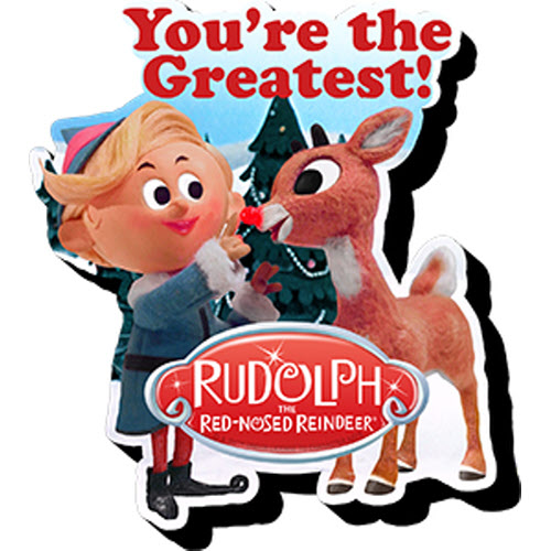Rudolph and Hermey Funky Chunky Magnet