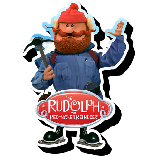 Rudolph Yukon Funky Chunky Magnet.