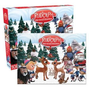 Rudolph The Red-nosed Reindeer 1000 Piece Puzzle