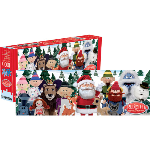 Rudolph the Red-Nosed 1000 Piece Slim Puzzle.