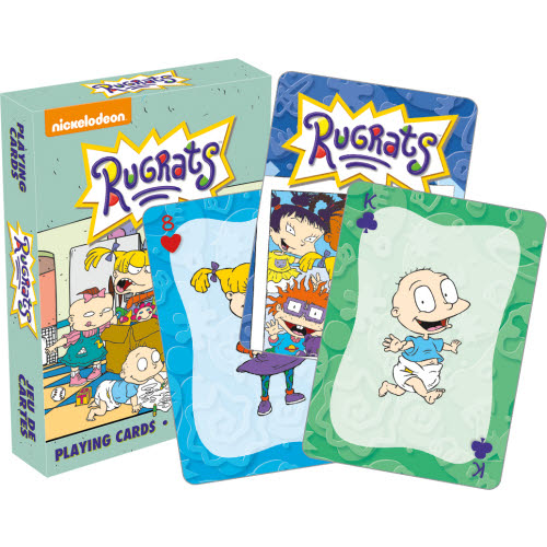 Rugrats Playing Cards.