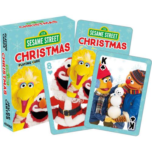 esame Street Christmas Playing Cards