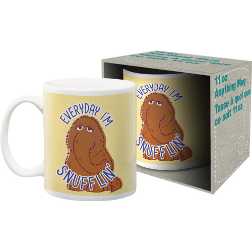 Sesame Street Snufflin 11 Ounce Boxed Mug.
