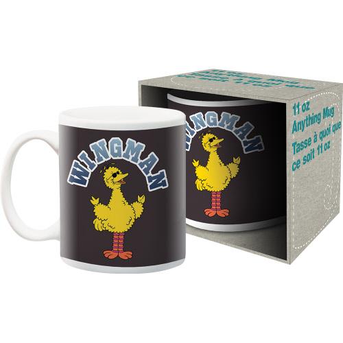 Sesame Street Wingman 11 Ounce Boxed Mug.