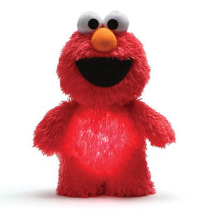 Sesame Street Elmo Glow Pal 9 Inch Plush