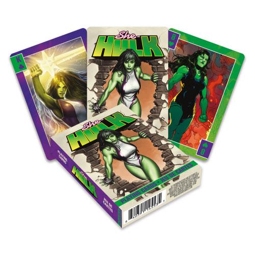 She-Hulk Playing Cards