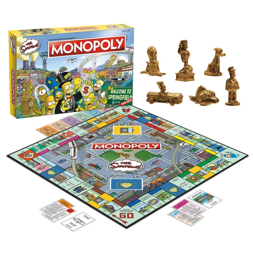 The Simpsons Monopoly Game. Celebrate 30 years of everyones favorite cartoon family with this special The Simpsons edition of Monopoly!