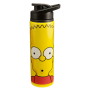The Simpsons 24 Ounce Stainless Steel Water Bottle.  Eco-friendly water bottles are non-toxic, reusable and recyclable. Hand wash recommended.