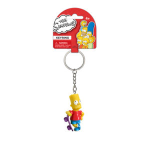 The Simpsons Bart with Skateboard 3D Mini-Figure Key Chain