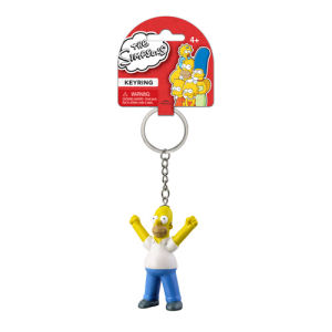The Simpsons Homer 3D Mini-Figure Key Chain