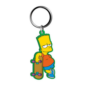 The Simpsons Bart Soft Touch Key Chain