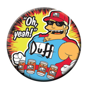The Simpsons Duff Man Bottle Opener Magnet