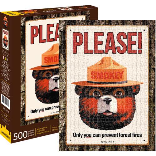 Smokey Bear 500 Piece Puzzle