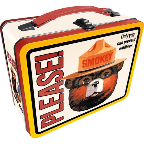 Smokey Bear Large Gen 2 Fun Box Lunchbox Tin Tote