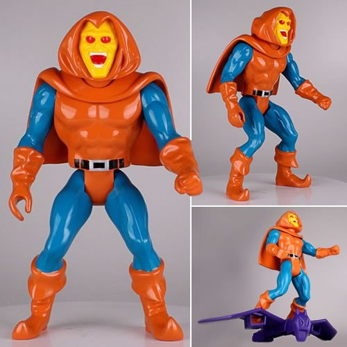 Marvel Comics 12 Inch Vintage Jumbo Figures Secret Wars Hobgoblin. Digitally scanned from the original Mattel Secret Wars figures and reproduced in 12 Inch scale, no detail has been overlooked. Roto and injection molded and made of durable plastics, this