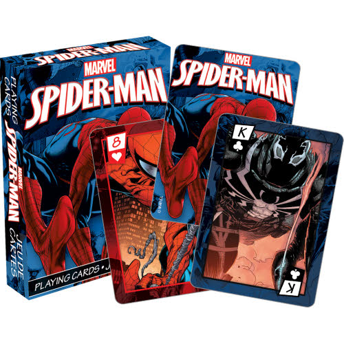 Marvel Spider-Man Comics Playing Cards.
