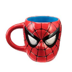 Spider-Man Sculpted Ceramic Mug