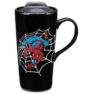 Spider-Man 20 Ounce Heat Reactive Ceramic Travel Mug