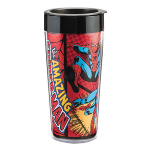 Spider-Man 16 Ounce Plastic Travel Mug
