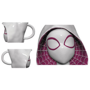 Marvel Spider-Gwen Molded Head Mug