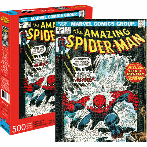 Spider-Man Cover 500 Piece Puzzle