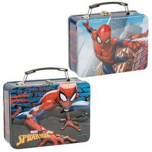 Spider-Man Lunch Box Large Tin Tote