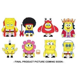 Spongebob Squarepants Cavalcade Of Spongebob Blind Box 3 Inch Figures Display Case