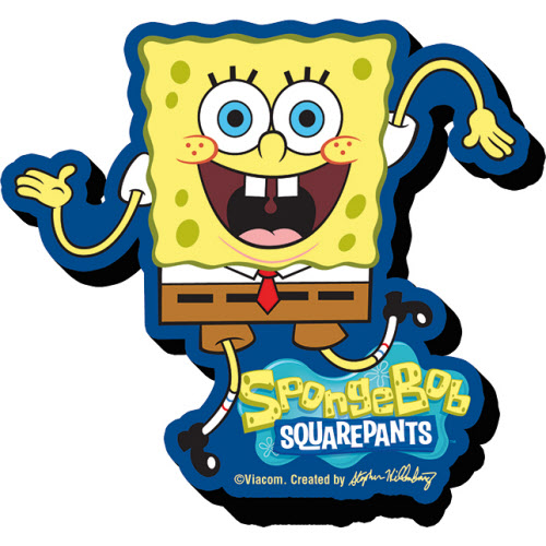 Spongebob Squarepants Funky Chunky Magnet