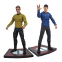 Star Trek Into Darkness  Series 1 Star Trek Select Figures Assortment. Case includes 6 Star Trek select action figures. These screen-accurate figures of Kirk and Spock capture the costumes and faces of the new movies.