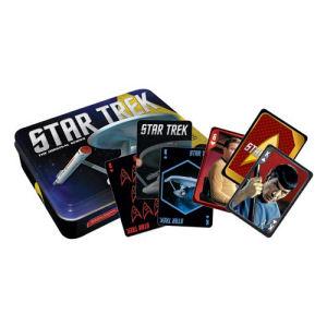 Star Trek Playing Card Tin