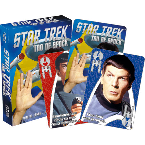 Star Trek Tao of Spock Playing Cards.