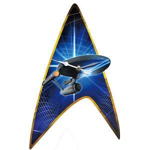 Star Trek Classic Enterprise Wall Clock