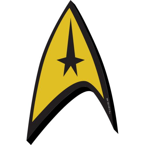 Star Trek Crest Funky Chunky Magnet.