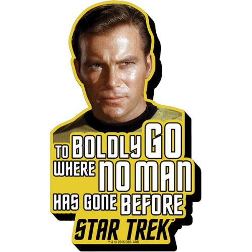 Star Trek Kirk Quote Funky Chunky Magnet