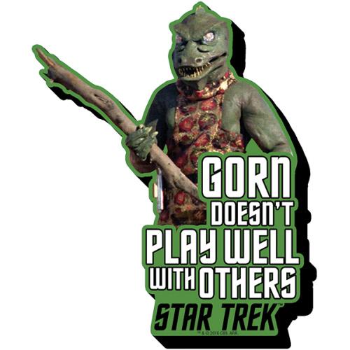 Star Trek Gorn Quote Funky Chunky Magnet