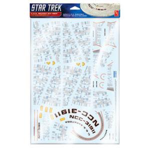 Star Trek U.S.S. Reliant Aztec Model Kit Decals