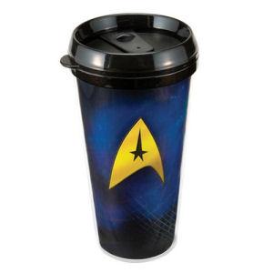Star Trek 16 Ounce Plastic Travel Mug