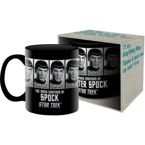 Star Trek Emotions of Spock 11 Ounce Boxed Mug
