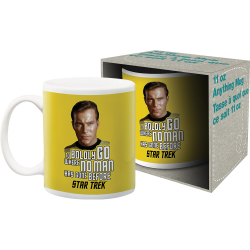 Star Trek Kirk Quote 11 Ounce Boxed Mug.