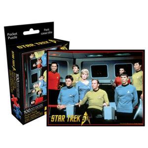 Star Trek Cast 100 Piece Pocket Puzzle