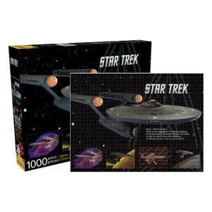 Star Trek: The Original Series Enterprise 1000-Piece Puzzle
