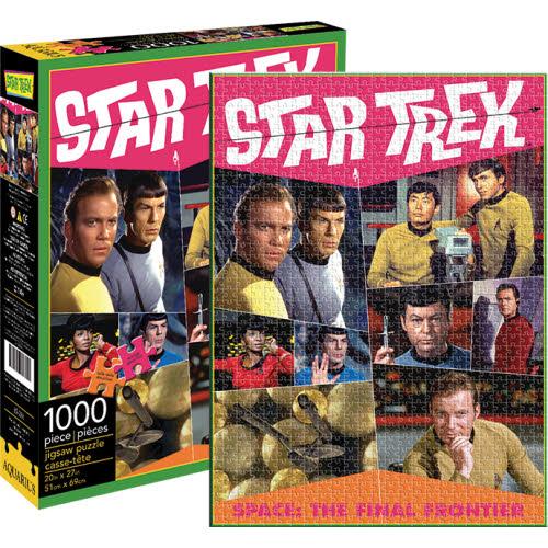 Star Trek Retro 1000 Piece Puzzle