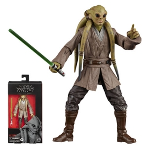 Star Wars The Black Series Star Wars The Clone Wars Kit Fisto 6 Inch Action Figure