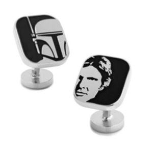 Star Wars Han Solo and Boba Fett Cufflinks