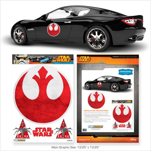 Star Wars Rebel Logo Automotive Decal